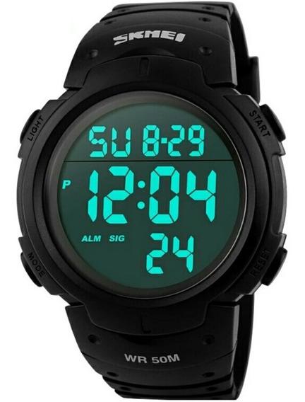 Relógio Masculino Skmei Sshock Digital.1068 Prova