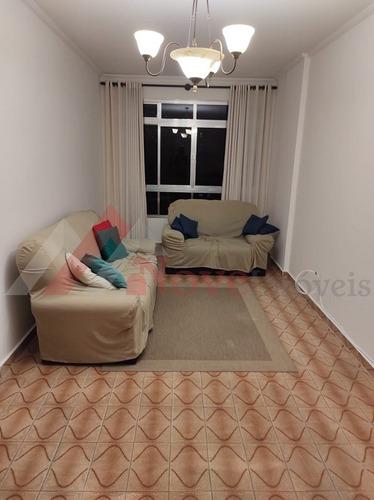 Imagem 1 de 11 de Apartamento Para Venda, 2 Dormitórios, Marapé - Santos - 1477