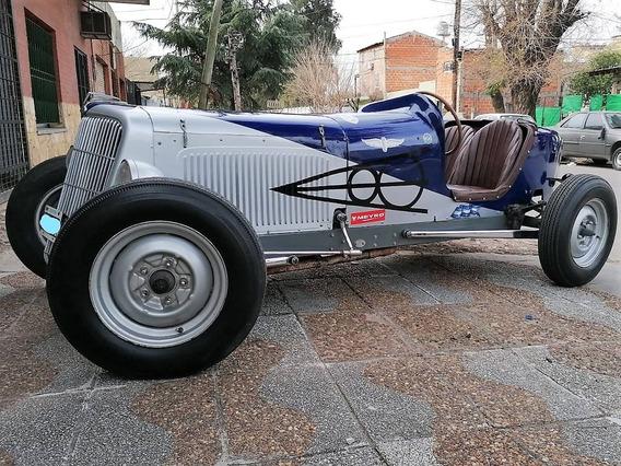 Auto De Carreras Clásico De Colección - Baquet Ford V8 1941