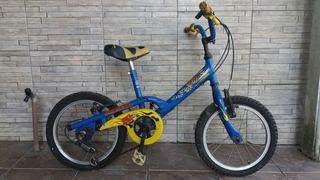 Bicicleta Infantil Aro 16 Com Cambio