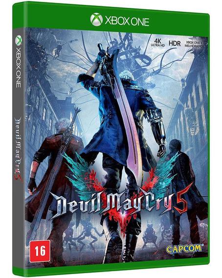 Jogo Devil May Cry 5 Xbox One Disco Fisico Blu-ray Original Novo Barato