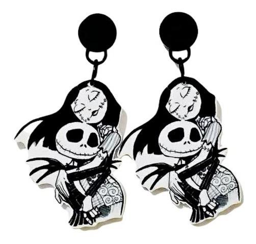 Brincos Wicca Caveira Dia Das Bruxas Halloween