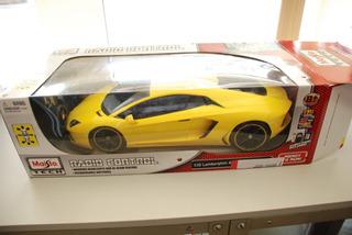 Carrinho Com Controle 1:10 Lamborghini Aventador Maisto 45cm