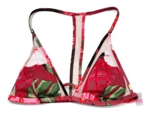 Biquíni Victoria Secret Top Mesh Triângulo Tam M42