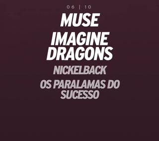 Ingresso Rock In Rio Meia Dia 06/10 Muse/imagine Dragons
