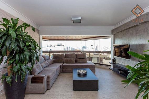 Cobertura Com 4 Dormitórios À Venda, 300 M² Por R$ 2.870.000,00 - Moema - São Paulo/sp - Co1400