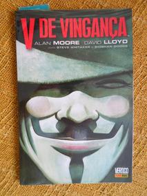 V De Vingança, De Alan Moore (capa Mole)