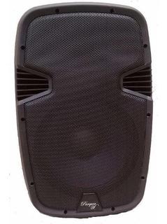 Bafle Ultra Liviano Parquer 15 Potenciado Usb Bluetooth