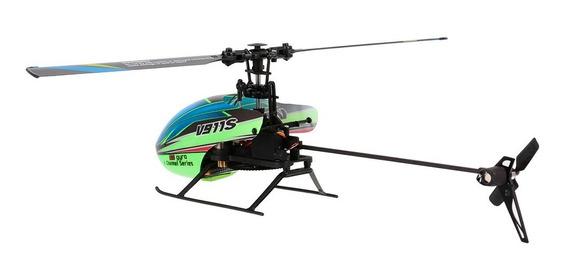 Wltoys V911s 4ch 6g Helicóptero Rc Non Aeronave Con Giroscop