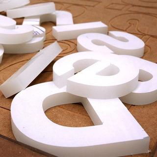 Polifan Letras Corpóreas 30 Cm 2cm Espesor