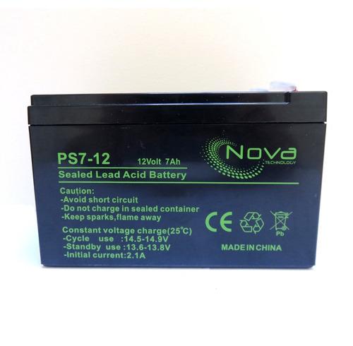 Bateria Recargable 12vdc 7amp