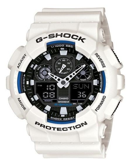 Relógio G-shock Casio Branco Ga-100b