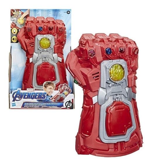 Guante Guantelete Del Infinito Rojo Avengers Hasbro E9508