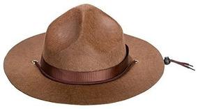 Canguro Adulto Mountie, Ranger O Sombrero Marrón Del