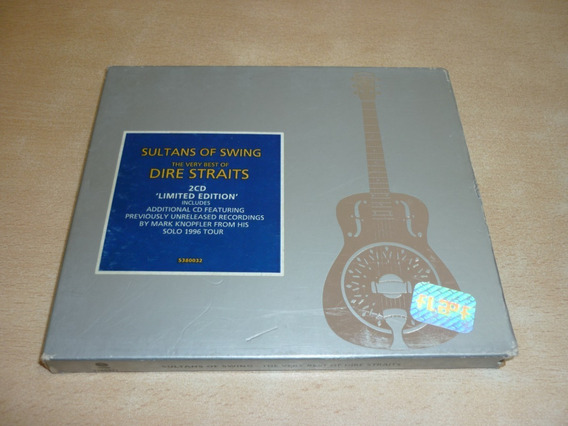 Dire Straits Sultans Of Swing Cd Doble Uk Impecables