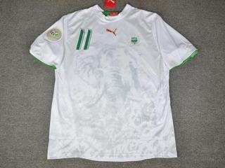 Camisa Costa Do Marfim Away Copa Do Mundo 2006 Drogba 11