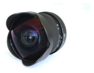 Lente 8mm Andoer Ojo De Pez-fish Eye P/ Nikon F3.5/22 Nuevo