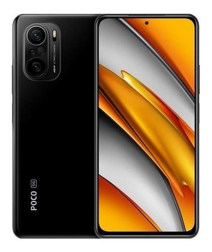 Celular Smartphone Xiaomi Poco F3 5g 128gb Preto - Dual Chip