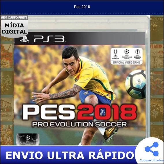 Pes 2018 Midia Digital Envio Na Hora