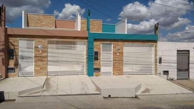 Casas De 2/4 Sendo Um Suite Toda Na Laje E Porcelanato - 585