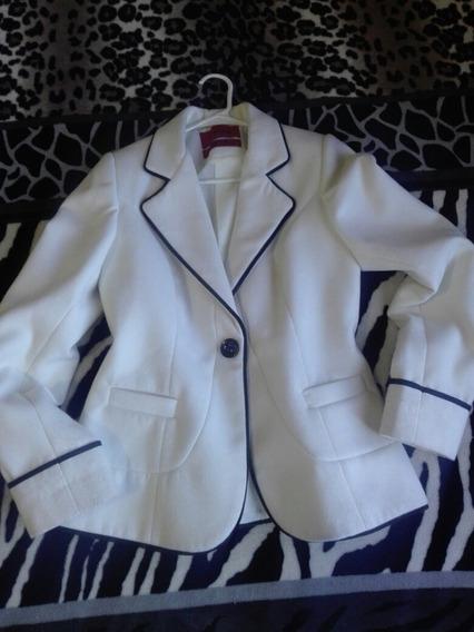 Saco Blazer Abrigo Aranza Talla 30 Dama Oficinas Frío