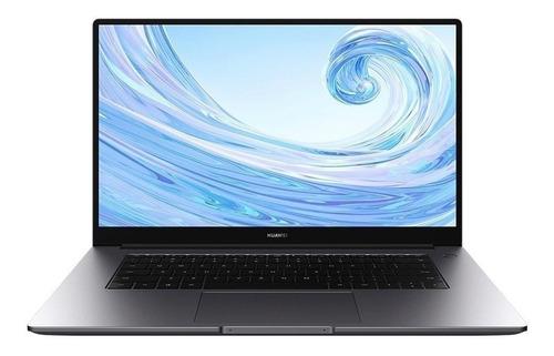 "Imagen 1 de 4 de Laptop Huawei MateBook D15 space gray 15.6"", Intel Core i5 1135G7  16GB de RAM 512GB SSD, Gráficos Intel Iris Xe G7 80EUs 1920x1080px Windows 10 Home"