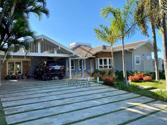 Casa Térrea Com 3 Suítes À Venda, 368 M² Por R$ 2.600.000 - Condomínio Residencial Colina - Campinas/sp - Ca2561