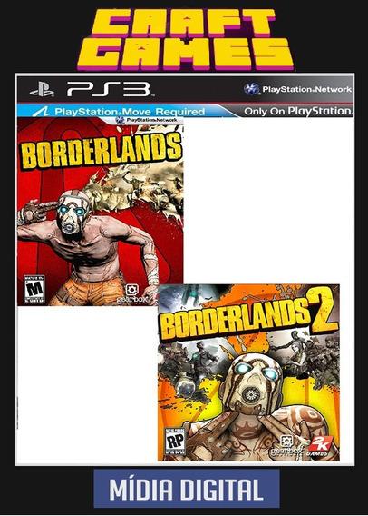 Borderlands 1 + Borderlands 2 Psn Ps3 Envio Imediato