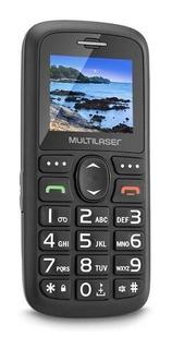 Telefone Celular Para Idoso Multilaser Vita C/ Botão De Sos