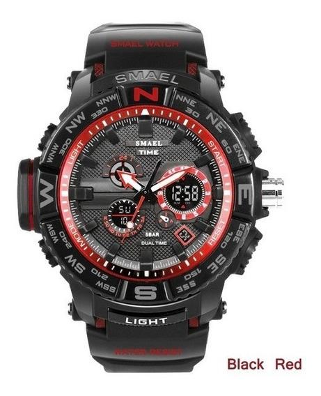 Relógio Smael Masculino, Grande, Melhor Preço, Frete Grátis