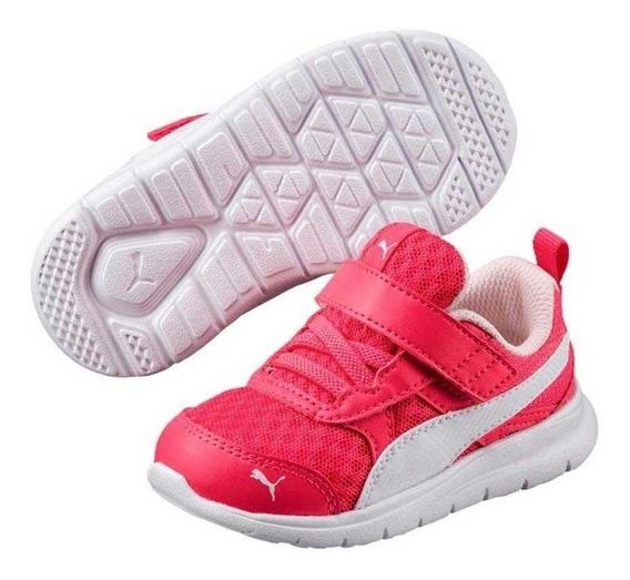 Tênis Infantil Puma Flex Essential V - Rosa