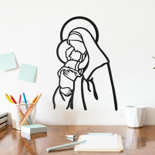 Imagem 1 de 2 de Quadro Decorativo Parede Religião Nossa Senhora 02 30cm