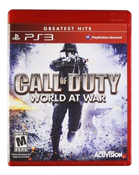 Jogo Call Of Duty World At War Ps3 Usado