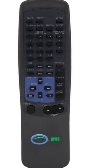 Controle Remoto Som Aiwa Rc-tn450ex Rc-tn999 Nsx-v900 Novo