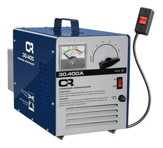 Cargador De Baterias Con Arrancador 40/410 Amp Cr Para Auto