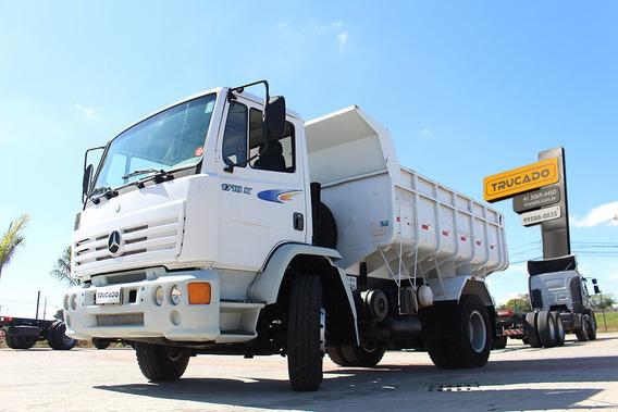Mb 1718 2000 4x2 Caçamba 8 Metros Vw Ford Cargo Mercedes