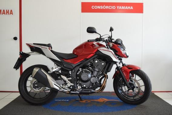 Honda Cb 500 F Vermelha