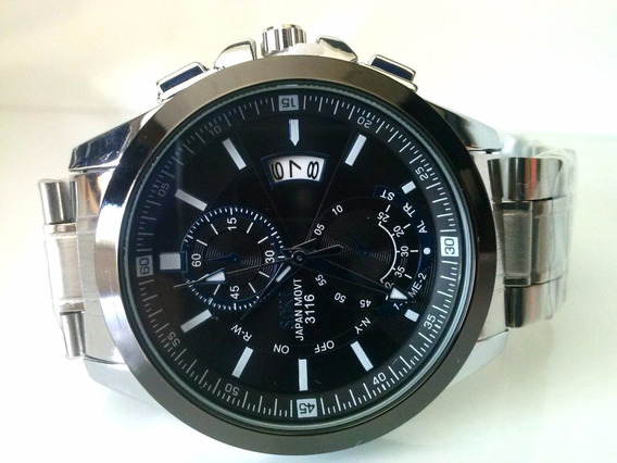 Relógio De Luxo Masculino Em Aço Inoxidável Soki