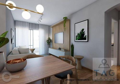 Imagem 1 de 9 de Apartamento Com 2 Dormitórios À Venda, 70 M² Por R$ 985.000,00 - Moema - São Paulo/sp - Ap1229