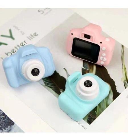 Imagem 1 de 6 de Câmera Fotográfica Infantil Display Colorido