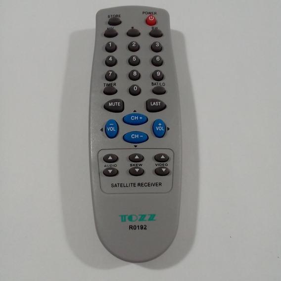 Controle Receptor Visiontec Tozz R0192