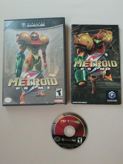 Metroid Prime Gamecube Original Americano Completo!!