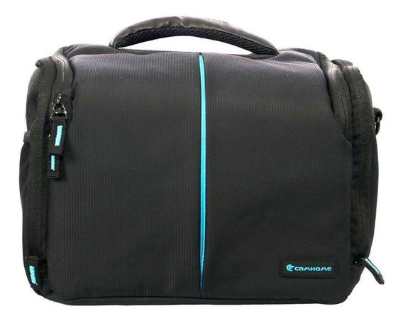 Bolsa Camhome Ec-8187l Para Câmera E Acessórios Fotográficos