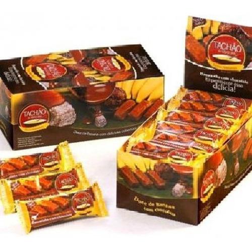 Imagem 1 de 1 de Bananinha Com Chocolate Tachao De Ubatuba 24x20g
