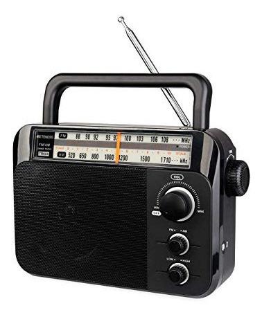 Rádio Retekess Tr604 Am/fm Stéreo Analógico Preto