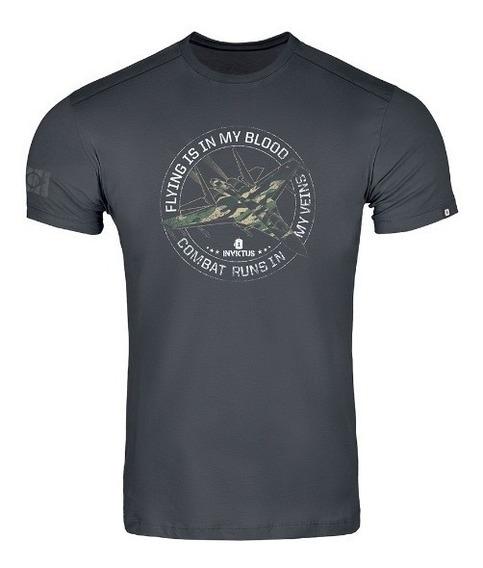 Camiseta Concept Invictus Original Modelos Diversos + Brinde