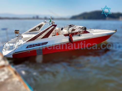 Lancha Intermarine 31 Barco Iate N Ferreti Azimut Axtor