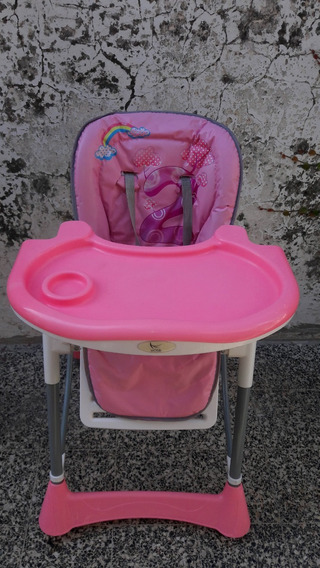 Silla De Comer Bebe Marca Tino Kids - Impecable -