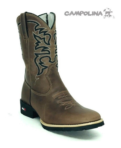 Bota Mr West Inf. B-79 1101 Pto 1474 Pull Up Brown - Flex