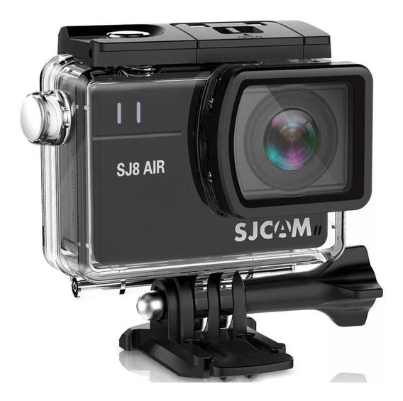 Câmera Sjcam Filmadora Sj8 Air Wifi Full Hd 1296p 14mp Preto